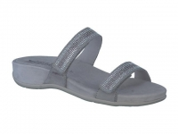 Chaussure mephisto velcro modele jany spark gris