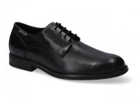 Chaussure mephisto sandales modele kevin cuir noir
