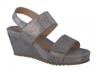 Chaussure mephisto sandales modele gilie taupe foncé