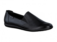 Chaussure mephisto mules modele korie cuir noir