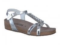 Chaussure mephisto sandales modele ibella cuir argent
