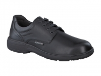 Chaussure mephisto mocassins modele denys cuir lisse noir