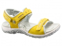 Chaussure all rounder Marche modele lagoona jaune