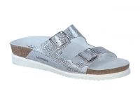 chaussure mephisto mules harmony motif argent
