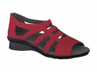 Chaussure mephisto sandales modele padge rouge