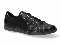 Chaussure mobils Ballerines modele hawai shiny noir