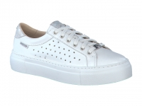 Chaussure mephisto sandales modele gyna perf blanc