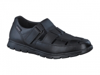 Chaussure mobils sandales modele kenneth noir