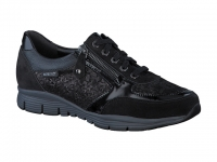 chaussure mephisto lacets ylona noir