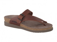 Chaussure mephisto sandales modele helen cuir gras chataigne