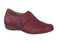 Chaussure mobils mocassins modele faustine rouge