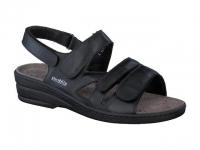 e66142cd18d sandales femme modèle renelia cuir lisse noir - Mephisto