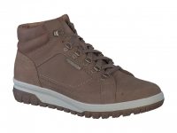 Chaussure mephisto lacets modele pitt taupe foncé