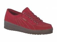 Chaussure mephisto Compensée modele lady nubuck rouge
