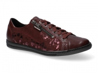 Chaussure mobils Ballerines modele hawai shiny bordeaux