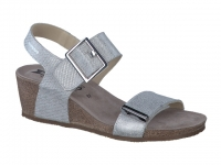 Chaussure mephisto sandales modele morgana  argent