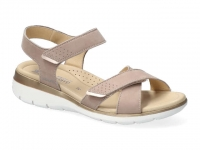 Chaussure mephisto velcro modele kristina taupe clair