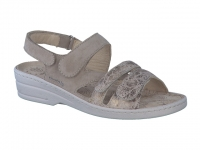Chaussure mobils mocassins modele renelia cuir sable