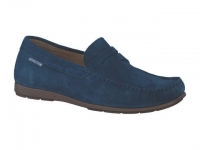Chaussure mephisto sandales modele alyon bleu