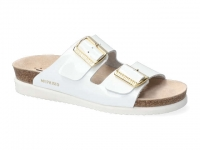 Chaussure mephisto Compensée modele hester blanc