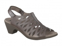 Chaussure mephisto sandales modele candice taupe