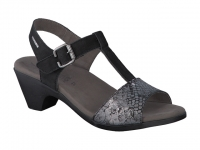 Chaussure mephisto mules modele carine noir