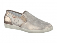 Chaussure mobils Boucle modele habila perf beige