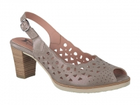 Chaussure mephisto sandales modele solange perf camel
